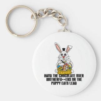 Nasty Easter bunny Key Chain