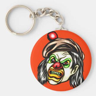 Nasty Evil Clown Keychain