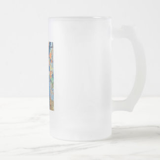 Nasty Frosted Glass Beer Mug
