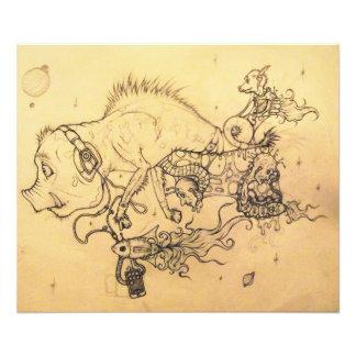 Nasty Pig (whole piece) Photo