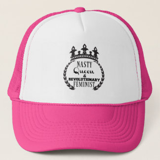 Nasty Queen Feminist Trucker Hat