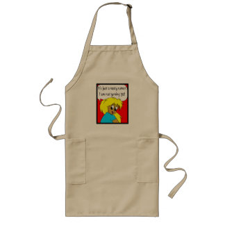 Nasty Rumor 30th Birthday Gifts Long Apron