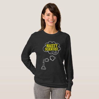 Nasty Scientist- Science for march earth day T-Shirt