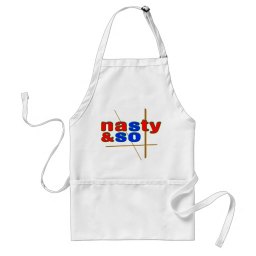 Nasty So & So Apron
