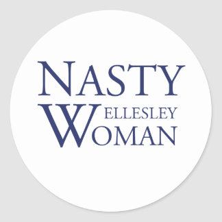 Nasty Wellesley Woman Stickers