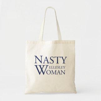 Nasty Wellesley Woman Tote Bag