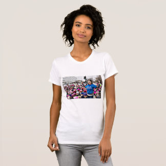 Nasty Woman, at the Women's March  Protester Shirt