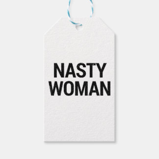 Nasty Woman gift wrapping Gift Tags