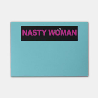 Nasty Woman Safety Pin Post-It's Post-it® Notes