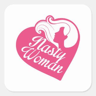 Nasty Woman Square Sticker