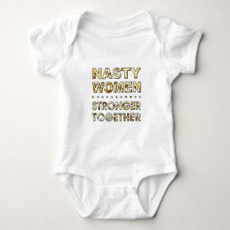 NASTY WOMEN BABY BODYSUIT