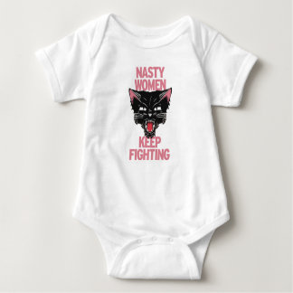 Nasty Women Keep Fighting Onesy Baby Bodysuit