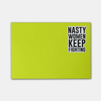 Nasty Women Keep Fighting Post-It's Post-it Notes