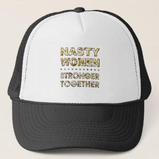 NASTY WOMEN TRUCKER HAT