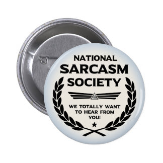 Nat' Sarc' Soc' -Hear 6 Cm Round Badge