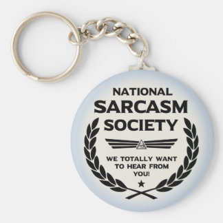 Nat' Sarc' Soc' -Hear Key Ring