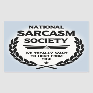 Nat' Sarc' Soc' -Hear Rectangular Sticker