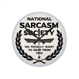 Nat' Sarc' Soc' -Hear Wallclock
