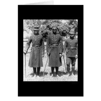 Natal Africa Policemen 1902 Card