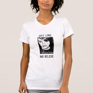 Natalie Anne Love and Believe Tee