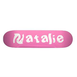 Natalie Personalized Skateboard Skateboard