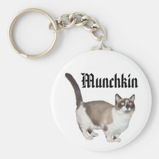 Nataly, Munchkin - Customized Basic Round Button Key Ring