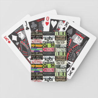 Natasha's Rock N Roll Flyer's Playing Cards