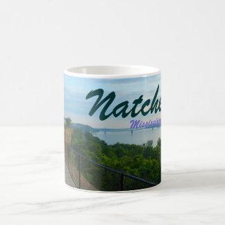 Natchez Mississippi Bluffs Mississippi River mug
