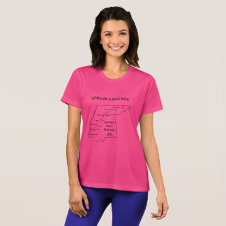 Natchez Trace Route Map T-Shirt
