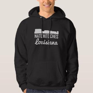 Natchitoches Louisiana Skyline Hoodie
