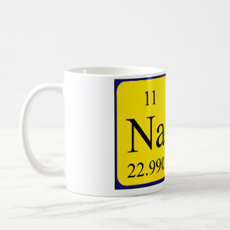 Nate periodic table name mug