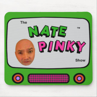 Nate Pinky Mouse Pad