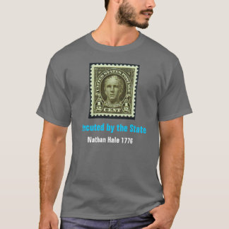Nathan Hale, Executed by the State Grey T-Shirt