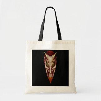 Nathan Satan Goes Shopping Tote Bag