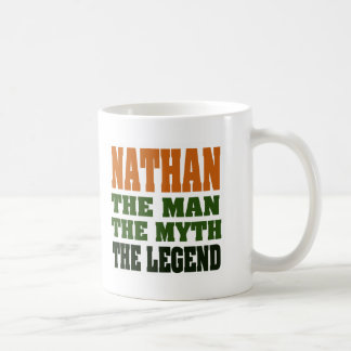 NATHAN - the Man, the Myth, the Legend Coffee Mug