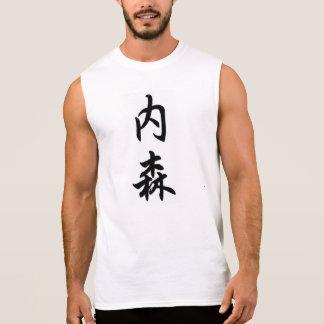 nathan sleeveless shirt