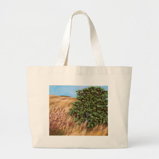 Nathanael and the Fig Tree Large Tote Bag