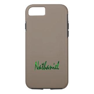 Nathaniel Customised Tough iPhone case