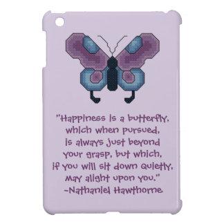 Nathaniel Hawthorne Happiness iPad Mini Case