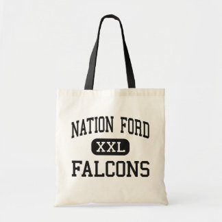 Nation Ford - Falcons - High - Fort Mill Tote Bags