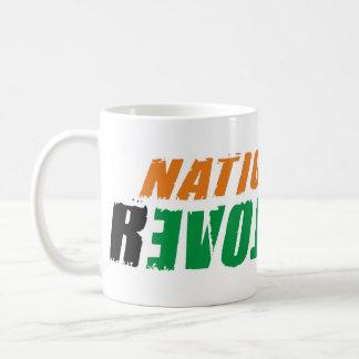 Nation Needs rEVOLution Basic White Mug