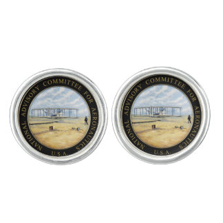 National Advisory Committee for Aeronautics Logo Cufflinks