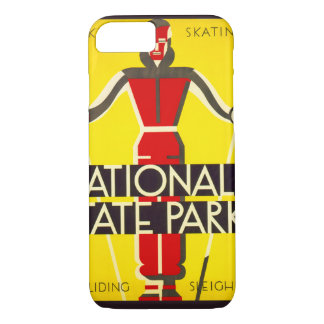 National and state parks, skiing - Dorothy Waugh iPhone 8/7 Case