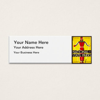National and state parks, skiing - Dorothy Waugh Mini Business Card