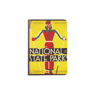 National and state parks, skiing - Dorothy Waugh Passport Holder