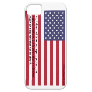 National Anthem Protests Barely There iPhone 5 Case