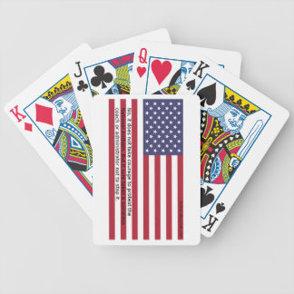National Anthem Protests Poker Deck