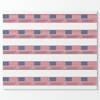 National Anthem Protests Wrapping Paper