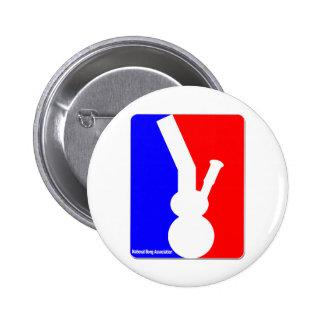 National Bong Association 6 Cm Round Badge