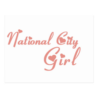 National City Girl tee shirts Postcard